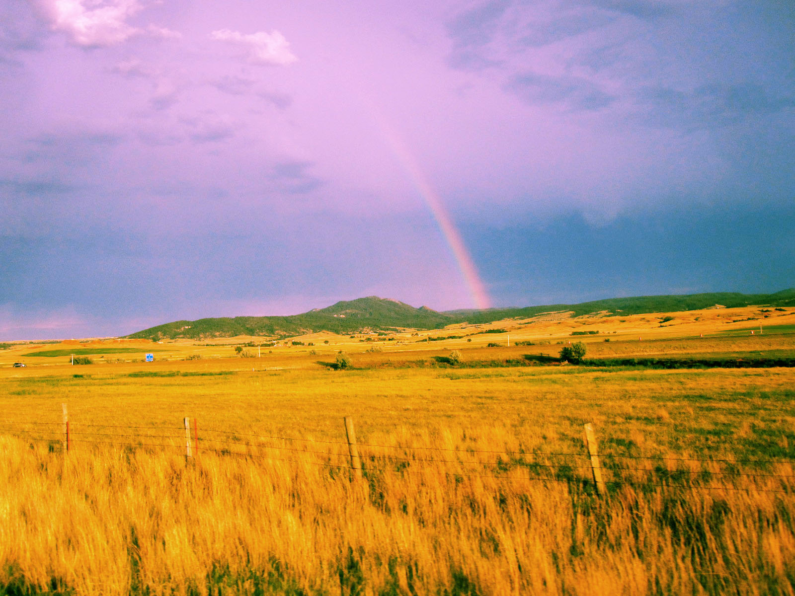 crow peak rainbow